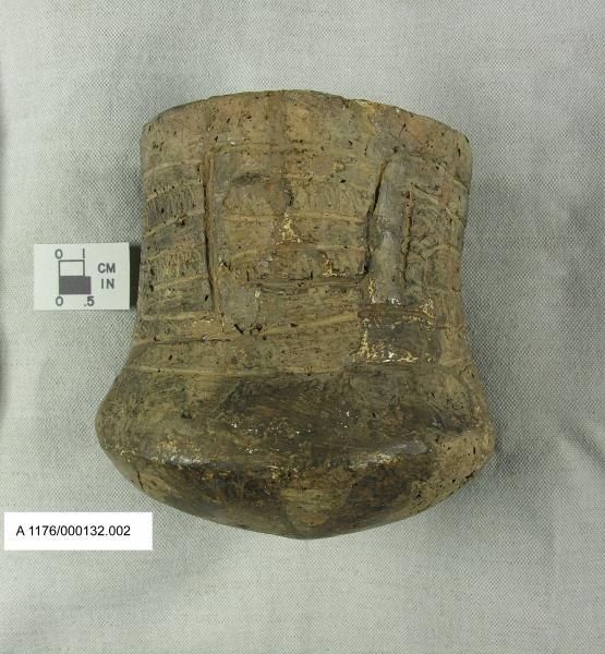 Vessel from Hopewell Culture