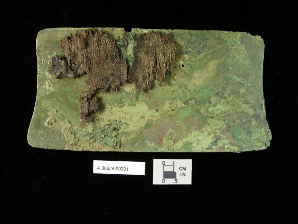 Plate from Hopewell Culture