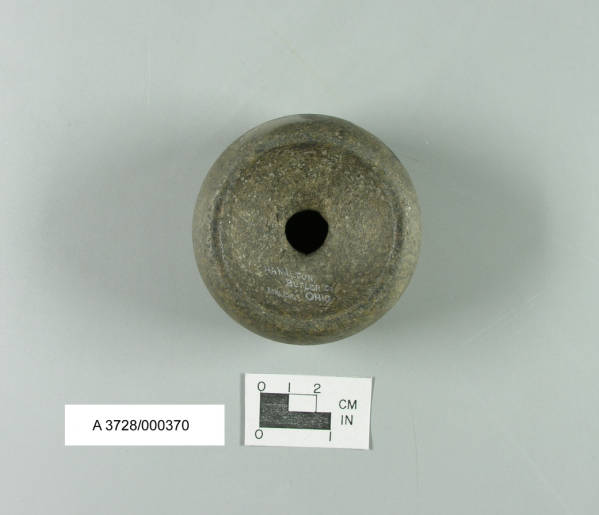 Discoidal from Fort Ancient Culture