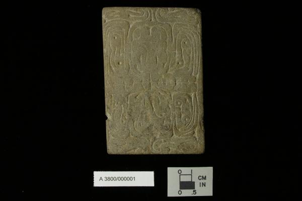 Tablet from Adena Culture