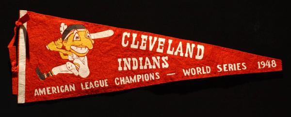 Cleveland Indians Pennant