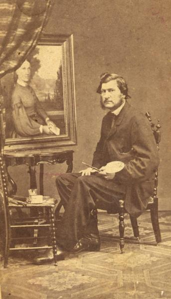 Archibald Willard portrait