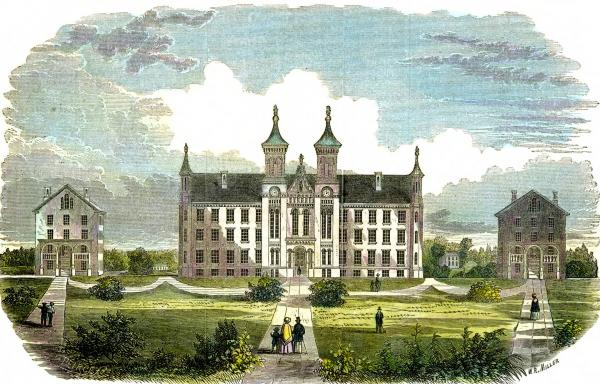 Antioch College illustration
