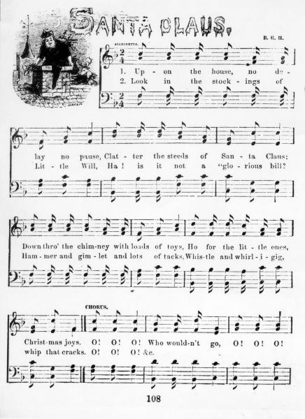 Benjamin Hanby sheet music