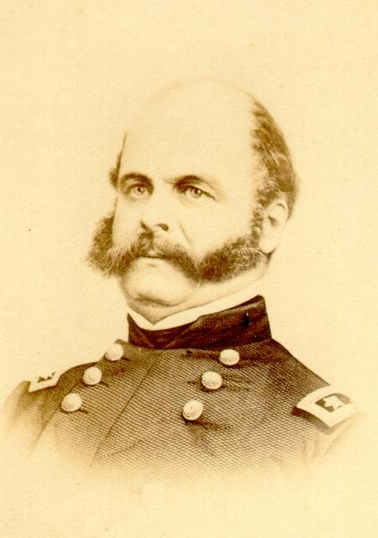 Description This Carte De Visite Depicts Ambrose E Burnside A Military Officer Who Fought In The Mexican War And Civil He Was Born On May 23
