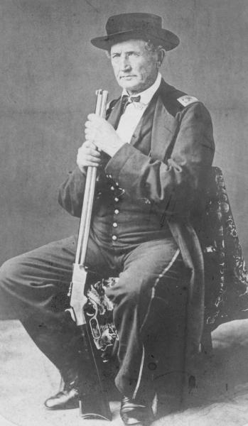 Daniel McCook, Sr. with Rifle portrait