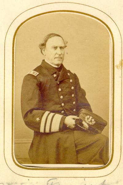 David Glasgow Farragut carte de visite photograph