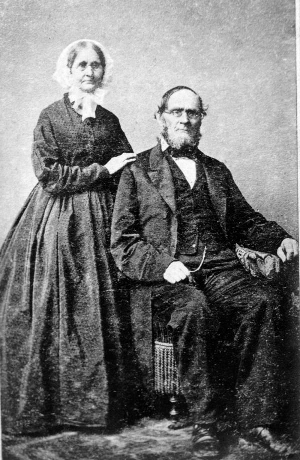 Jesse Root and Hannah Simpson Grant portrait