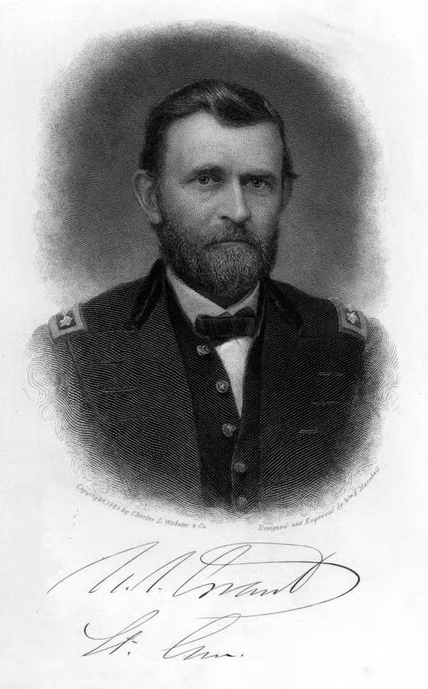 Ulysses S. Grant illustrated portrait