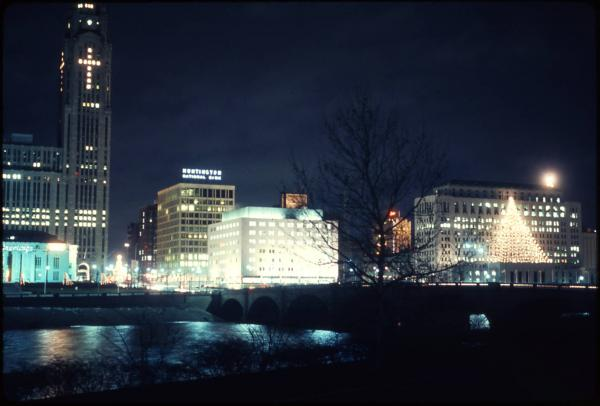 Columbus Riverfront Holiday photograph
