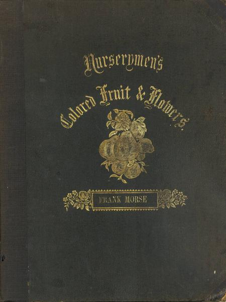 'Nurserymen's Colored Fruit & Flowers' cover