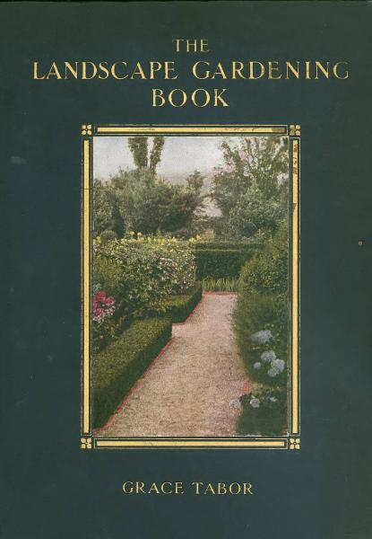 'The Landscape Gardening Book' cover