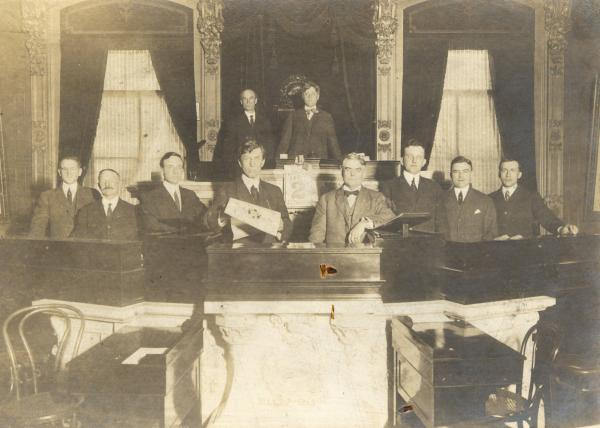 Ohio Constitutional Convention officers