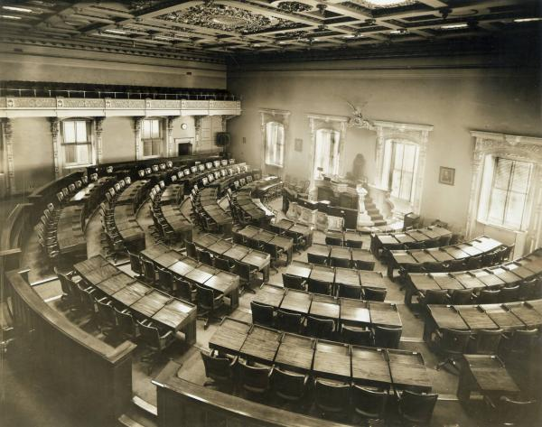 Ohio House of Representatives interior photograph