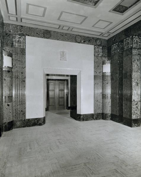 State Office Building doorway photograph