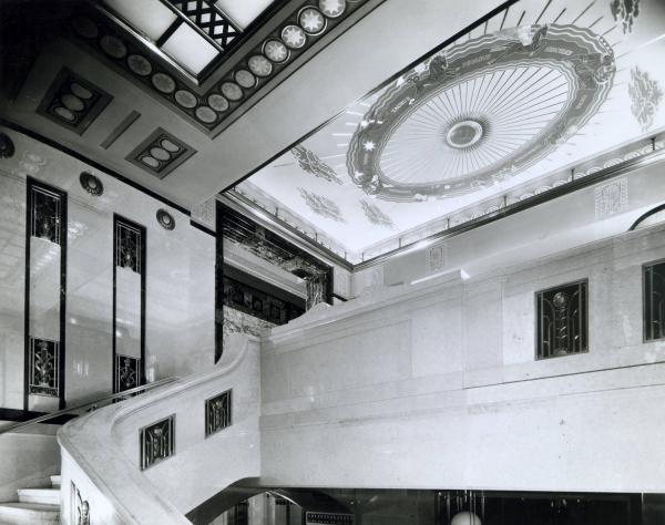 State Office Building mural photograph