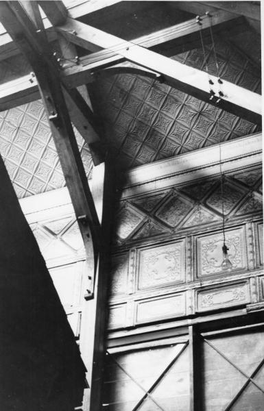 Truss from Ulysses S. Grant Cabin photograph