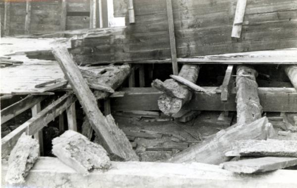 Floor of Ulysses S. Grant Cabin photograph