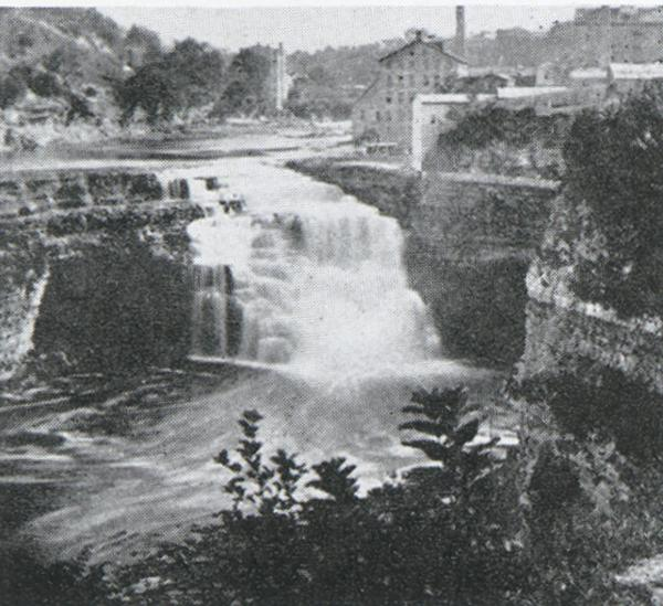 Lower Falls view, Rochester,  New York,' photograph