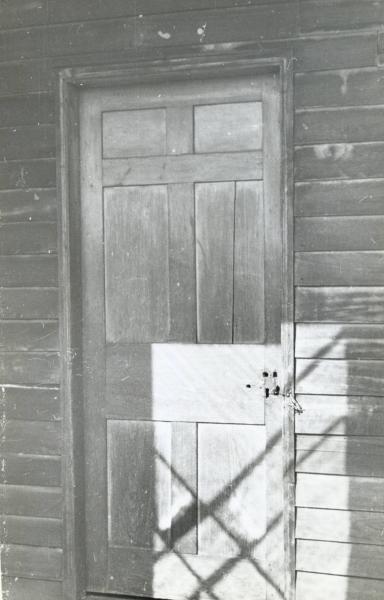 Door of Ulysses S. Grant Cabin photograph