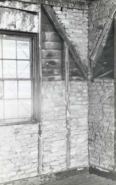 Interior view of Ulysses S. Grant Cabin photograph