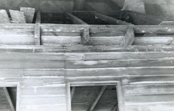 Roofline of Ulysses S. Grant Cabin photograph