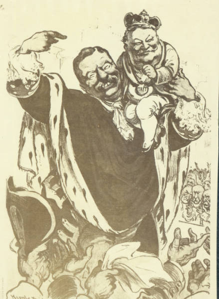 William Howard Taft cartoon