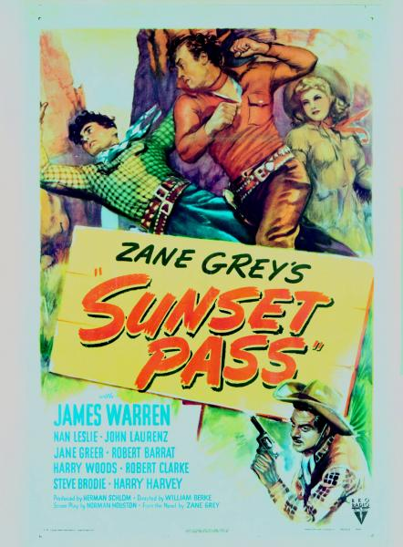 Zane Grey movie poster