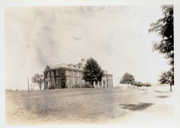Wilberforce University, Mitchell Hall, photograph