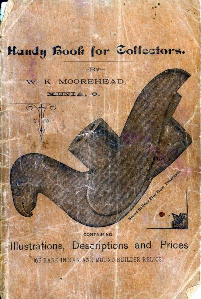 'Handy Book for Collectors' book cover illustration
