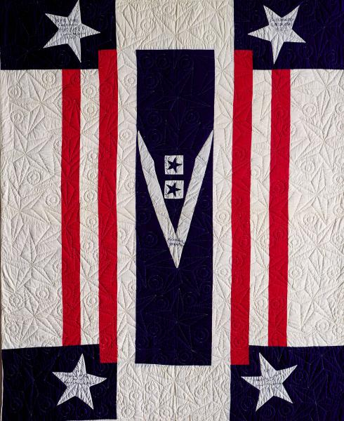 Victory quilt photograph