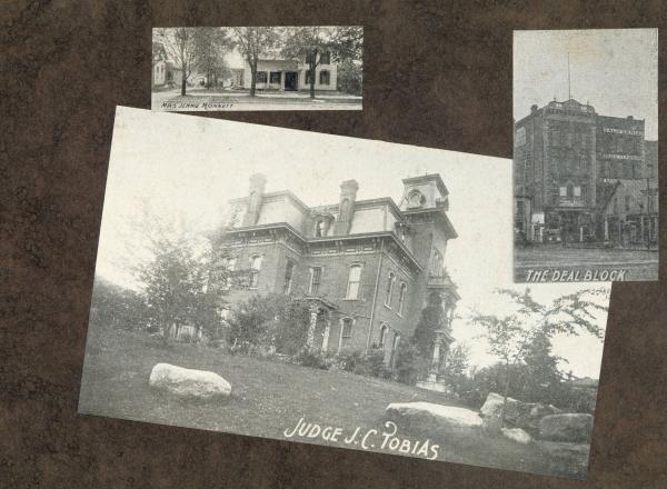 Buildings in Bucyrus, Ohio, photograph