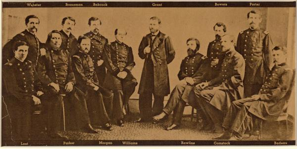 General U.S. Grant and staff photograph