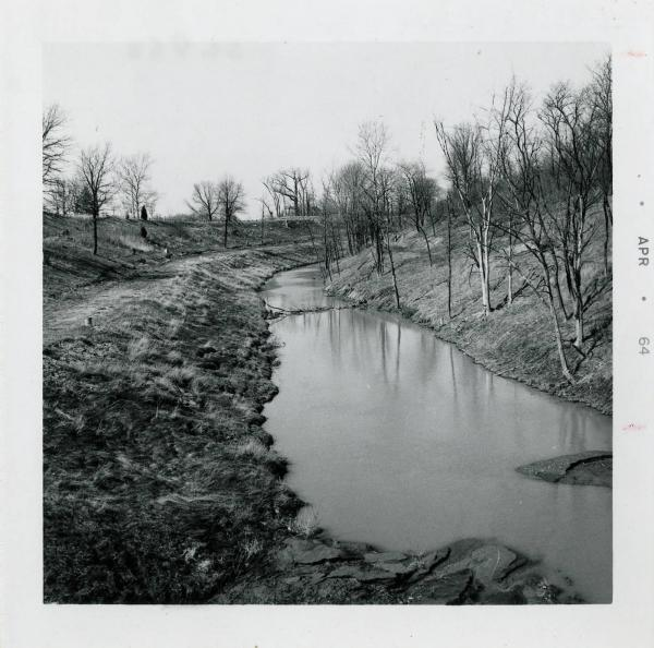 Canal in Auglaize County photograph
