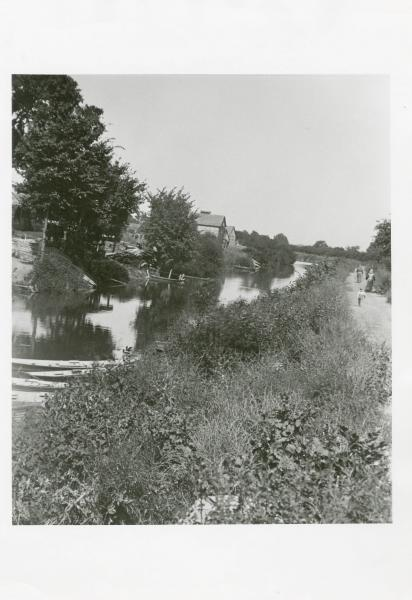 Ohio and Erie Canal at Millersport photograph