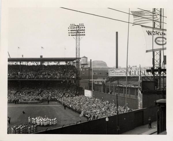 Crosley Field Ball Park photograph