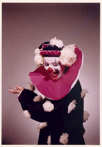 Flippo, the King of Clowns, photograph