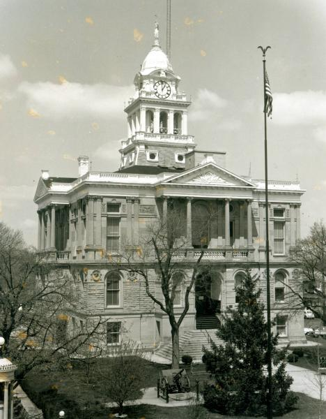 Fayette County Court House photograph