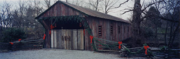 Covered bridge in Clifton photograph