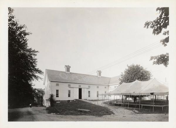 Ohio Agricultural Experiment Station, main dairy barn