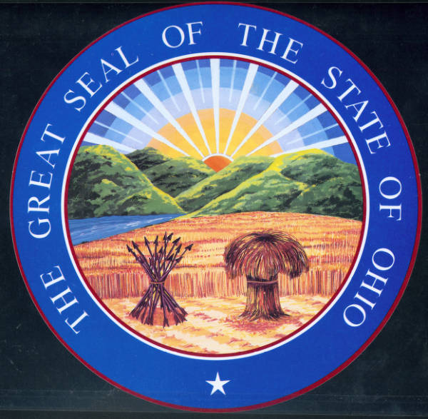 'Great Seal of the State Of Ohio' photograph