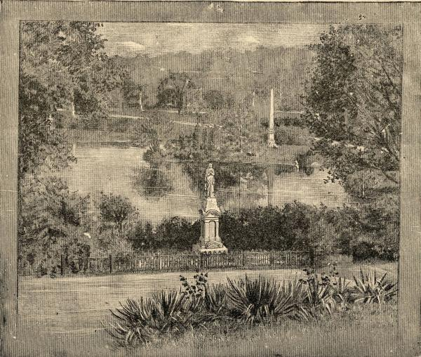 Spring Grove Cemetery drawing
