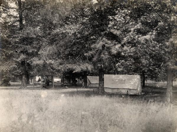 Fort Ancient camp site photograph