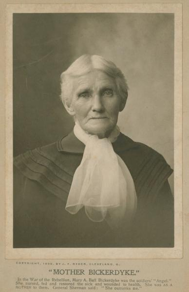 Mary A. Ball Bickerdyke photograph