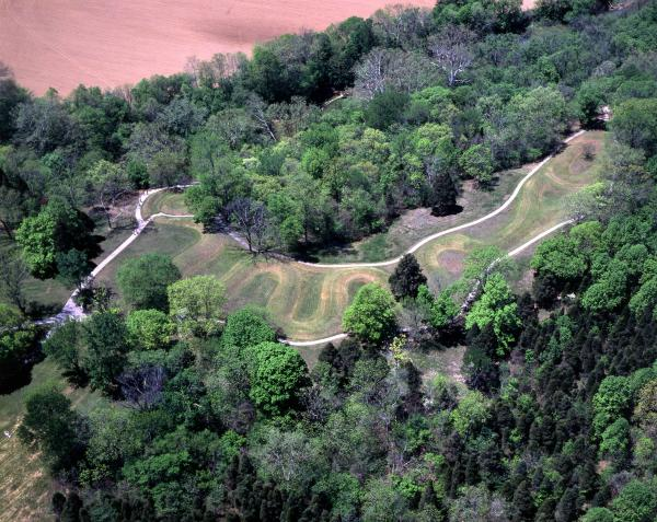 Serpent Mound photograph