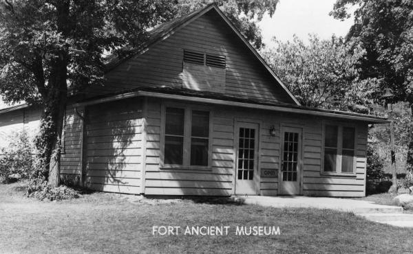 Fort Ancient museum photograph