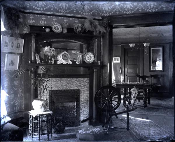 House Interior Fireplace