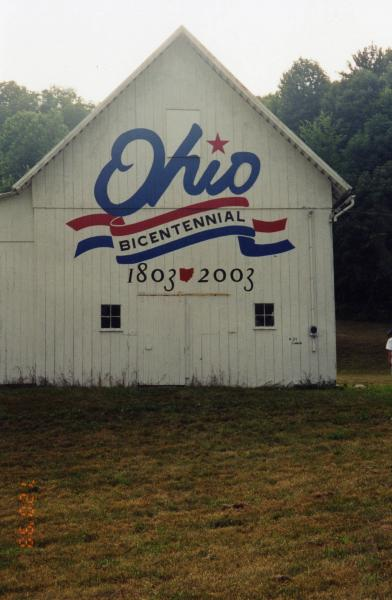 Bicentennial Barn painting photograph
