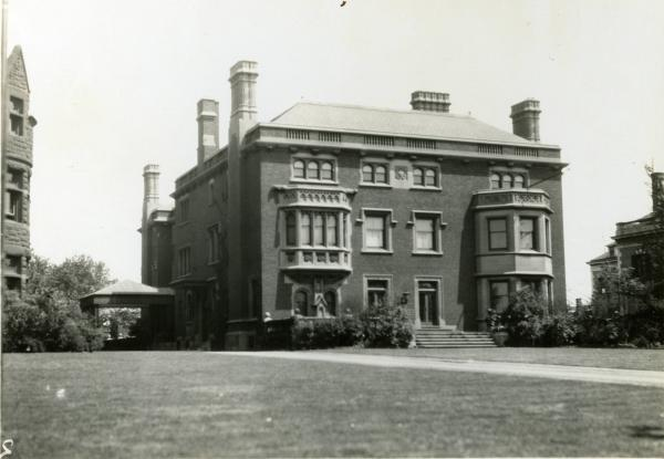 The Mather Mansion photograph