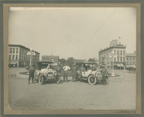 Bucyrus town Square